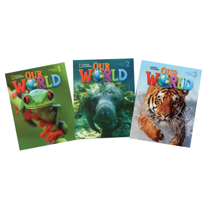 National Geographic Learning Our World books