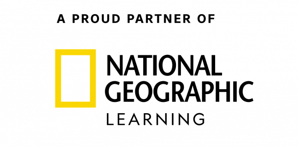 A proud partner of National Geographic Learning